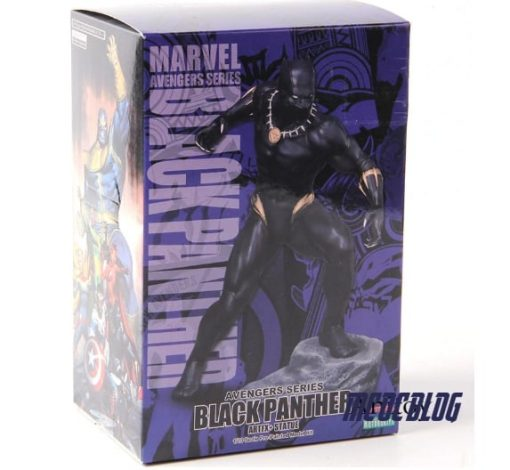 caja black panther figura