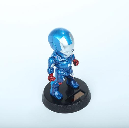 iron man blue edition