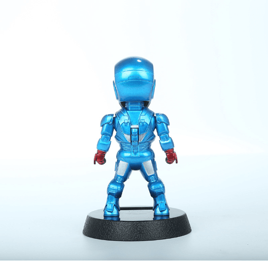 Iron Man azul figura