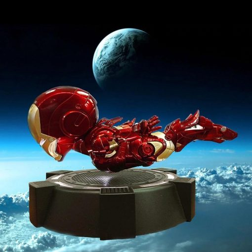 Iron man levitación magnética