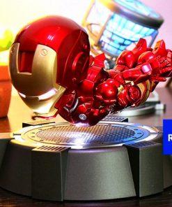 iron man magnetico levitando