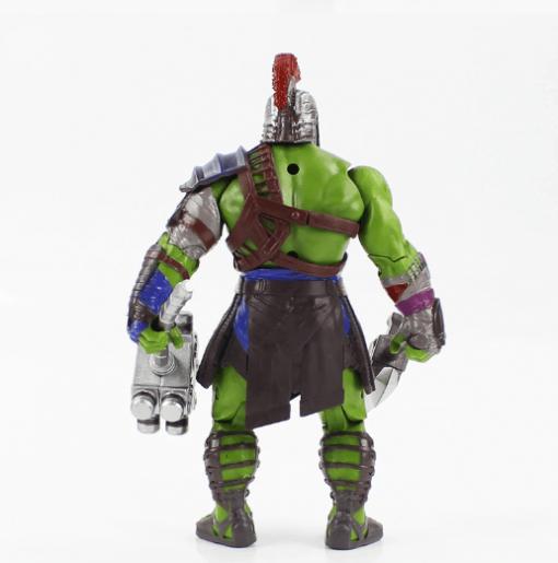 figura hulk en acción