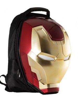 LED mochila iron man
