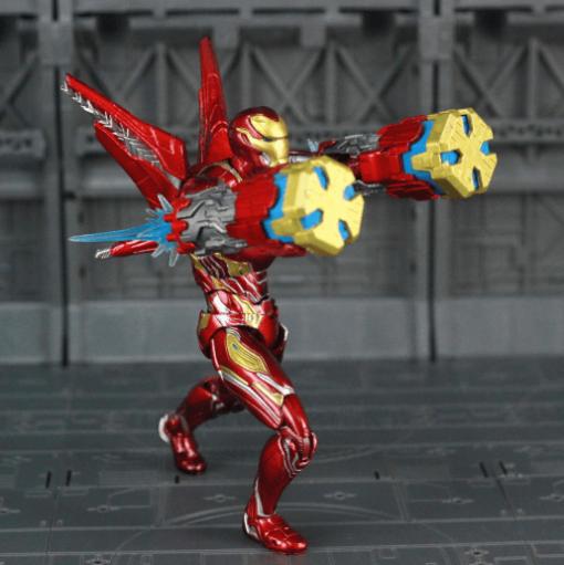 figura iron man mark 50 traje