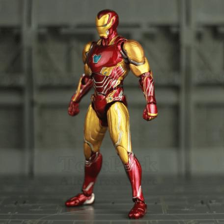 figura iron man mk LXXXV