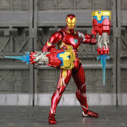 figura iron man traje mk 50