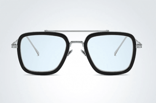 azul plata gafas tony