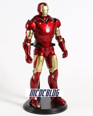 figura de iron man mark 3