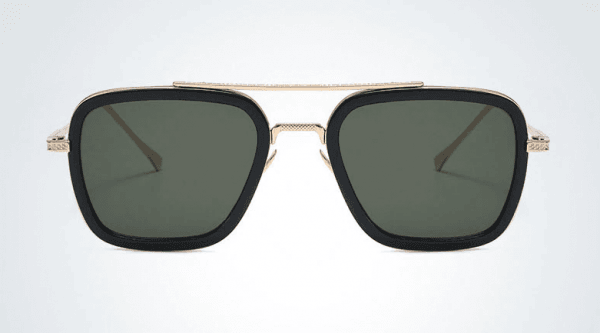 green gafas tony stark
